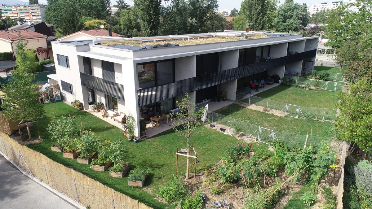 appartement à plan les ouates, promotion de Lemania immobilier